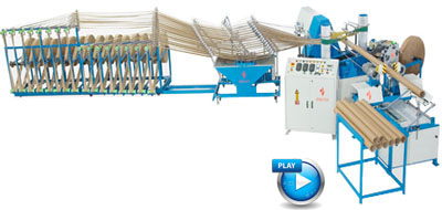 paper tube machinery