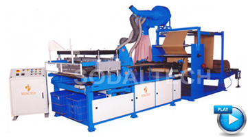 semi automatic paper cone machinery