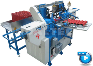 paper core surface winding machine
